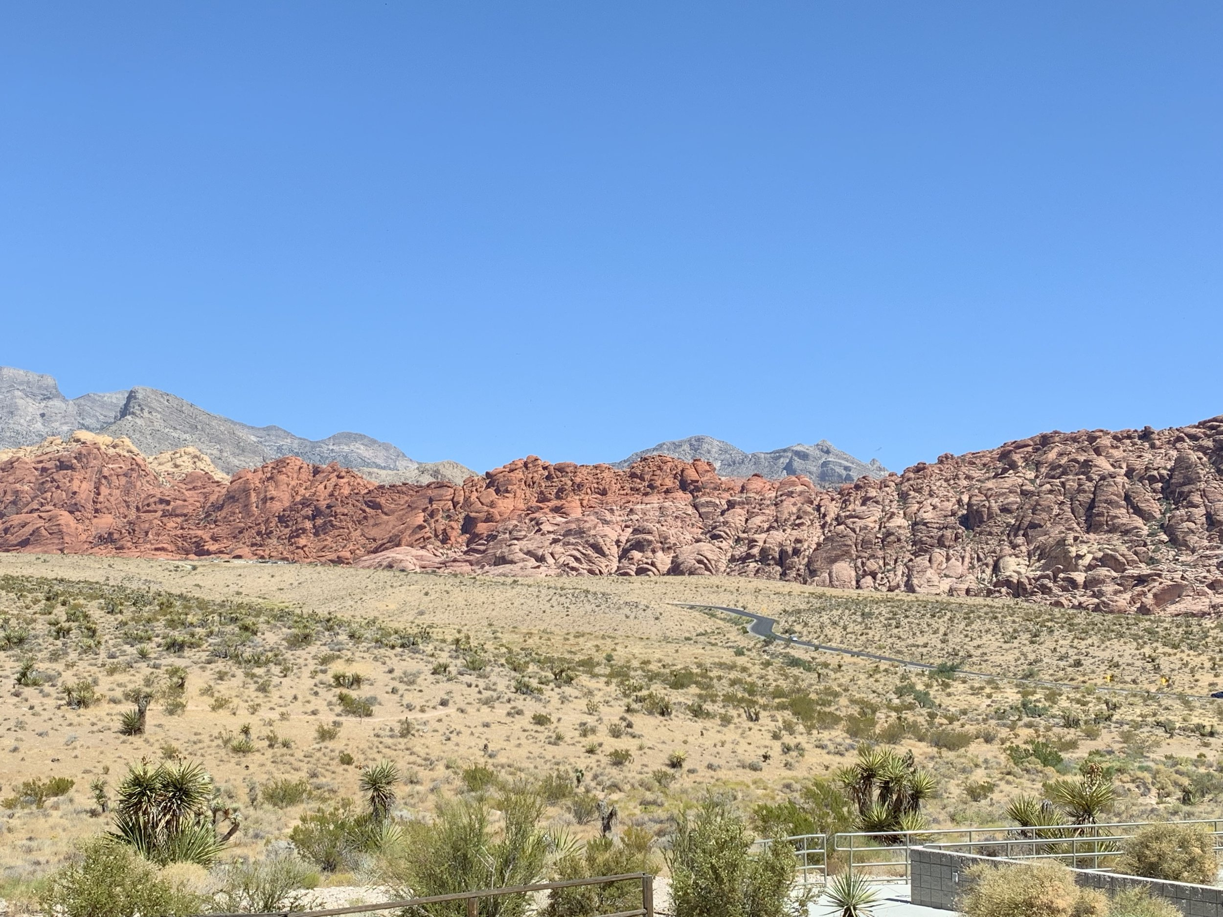 Red Rock Canyon. Another kind of vast expanse.