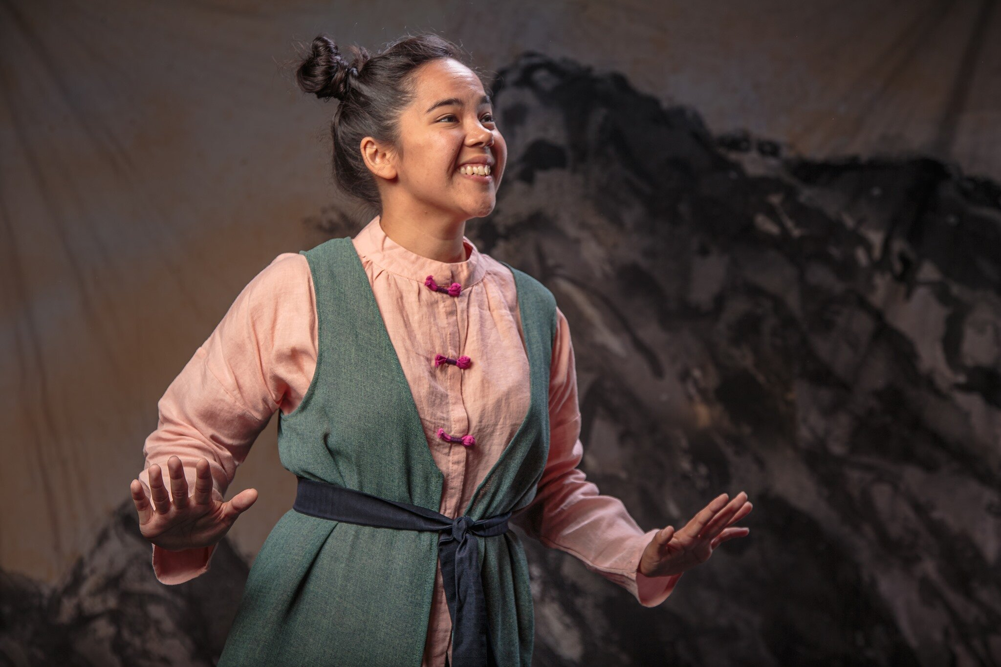 Chelsea Wellott as Minli in the 2019 BACT Production. Photo by Roger Jones.