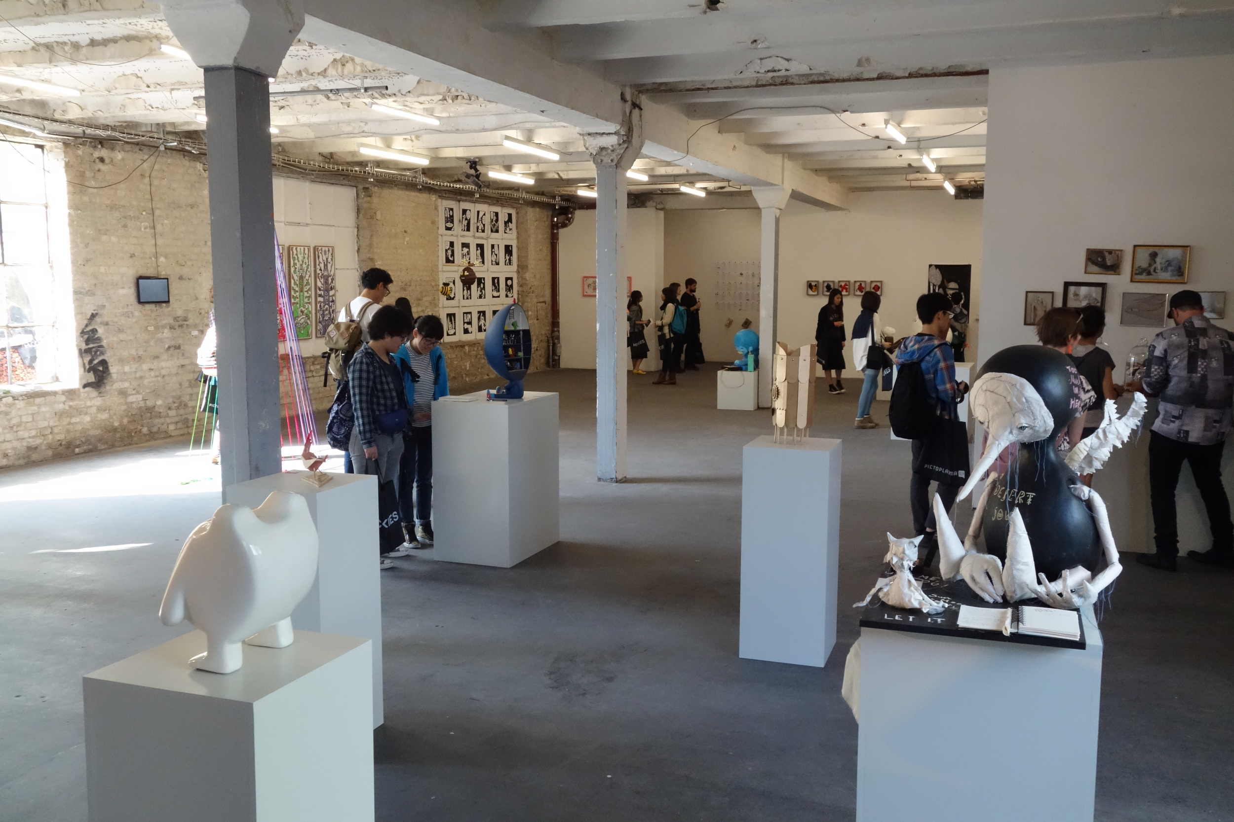 Pictoplasma Academys first Group Show at Urban Spree.