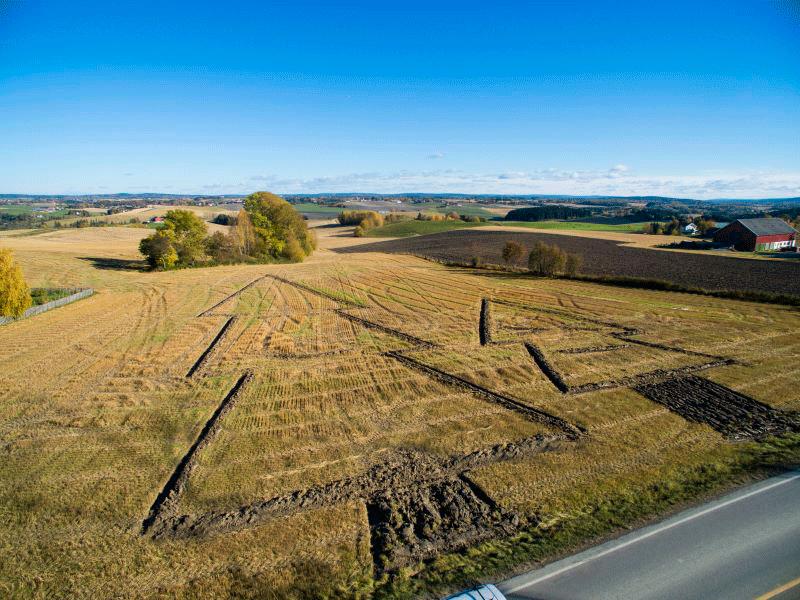 Foto tatt fra drone, bilde gjengitt fra www.gjerdrum.kommune.no