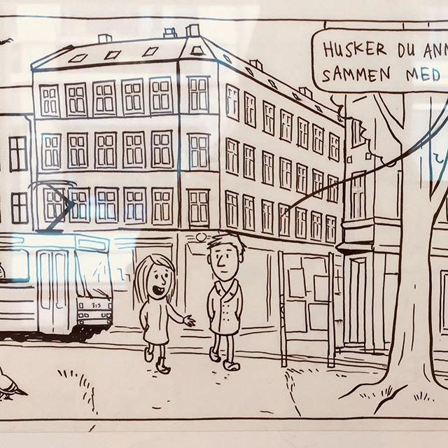 Ting vi trenger utstilt i Galleri R21 #ocx #oslocomicsexpo #jippiforlag #tingvitrenger #comics #grafill #oslo