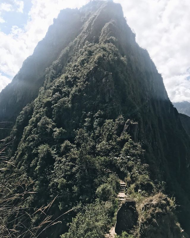 Hiking Wayna Picchu Mountain, a series. That view from the top sure was worth it ❤️
