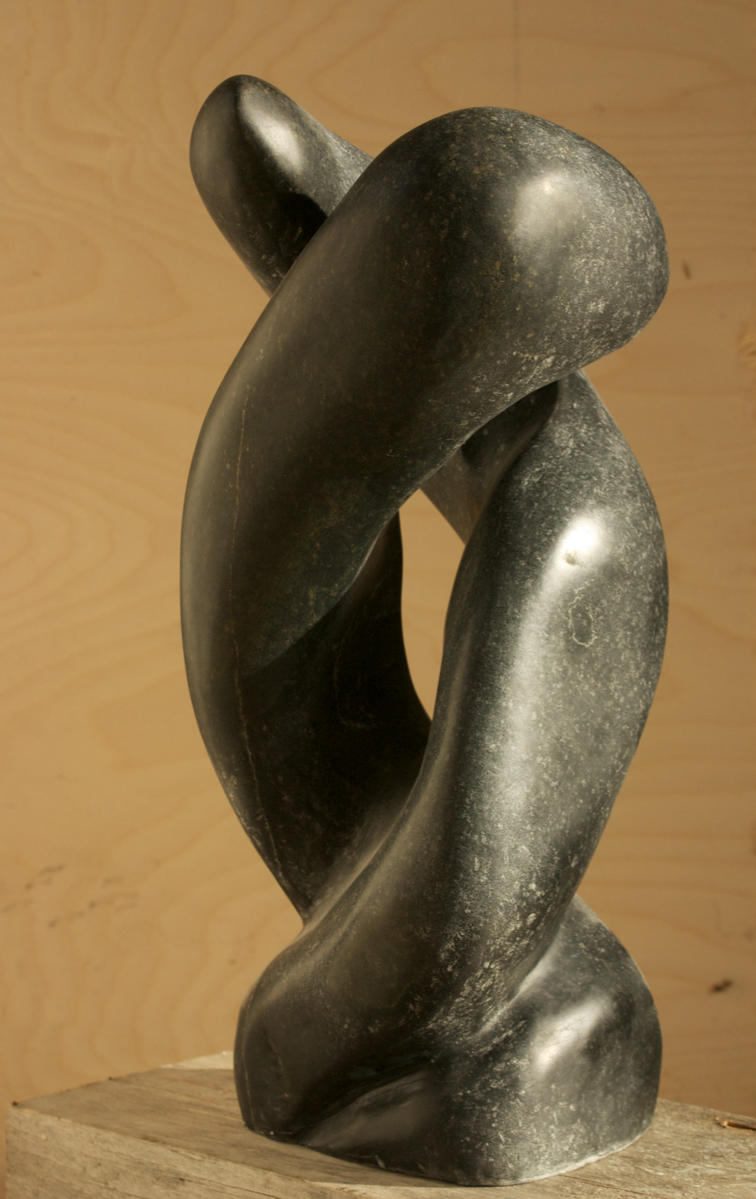 Ablutions, 2012, Black Pearl Soapstone, $2990