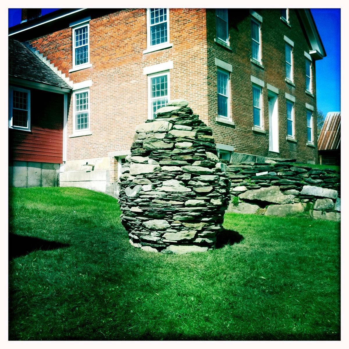 Cairn, Kent Museum, Calais, Vermont 2012