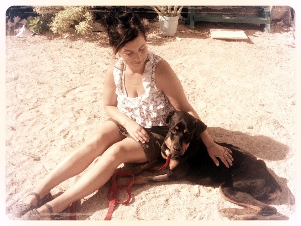 Maramduke and me in St.Croix, 2013