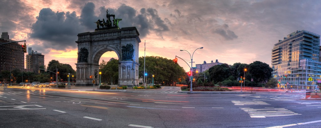 Grand Army Plaza in   Brooklyn  : a really great way to make Southerners become awkward and defensive.