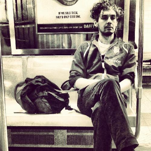 Stranger on a  Subway  train.