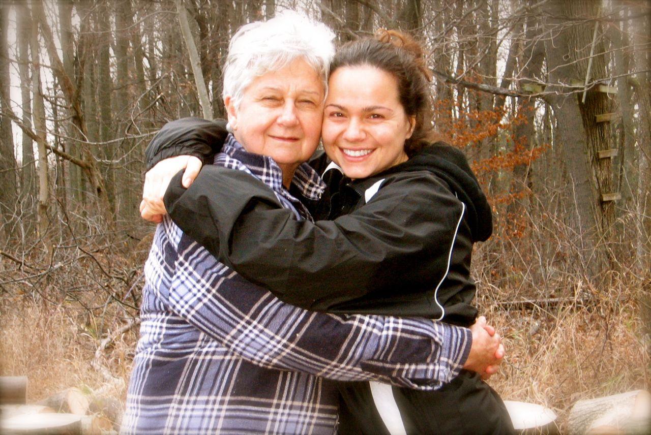 Me and my beautiful mama