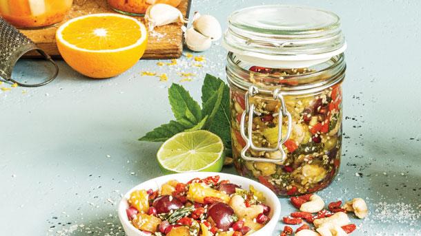 Superfruit Kimchi  - Photo by Clean Eating Magazine