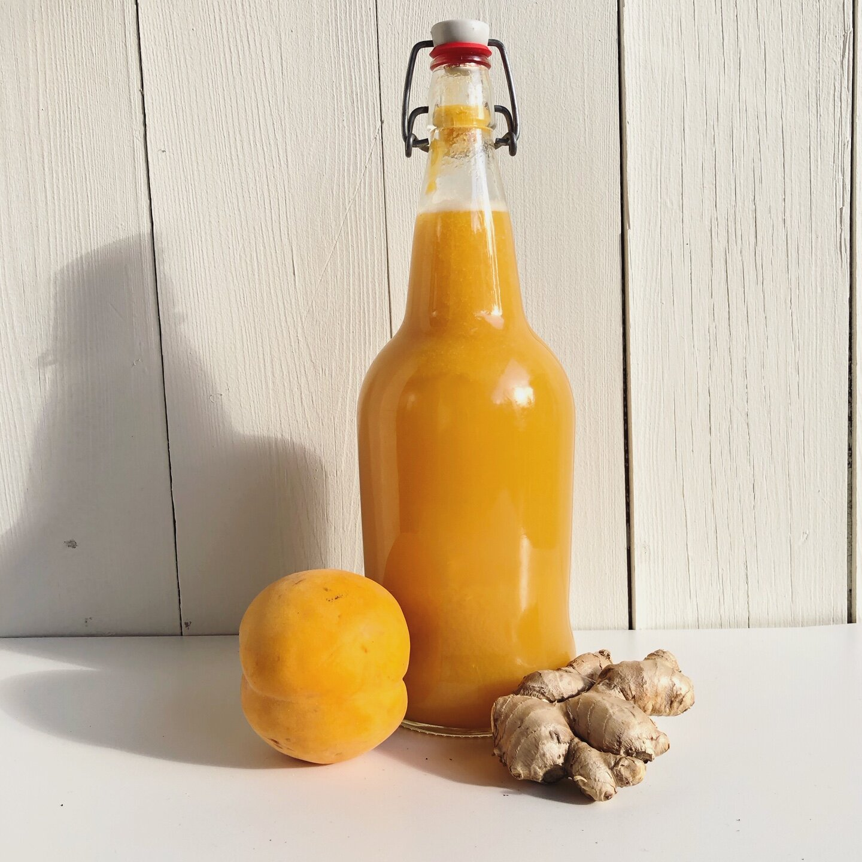 Honey Peach Ginger Beer