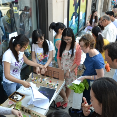 10-students presenting models to public.JPG