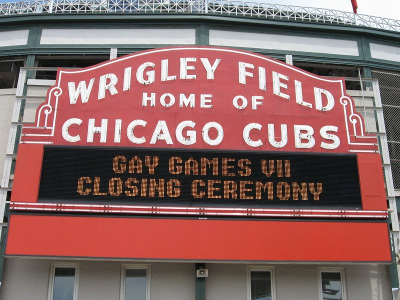 A Wrigley Welcome
