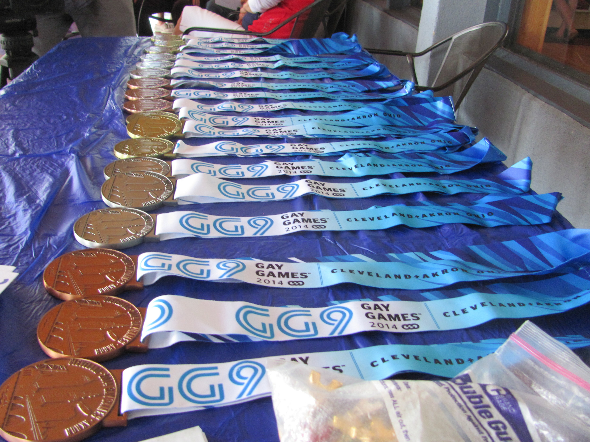 Medals await