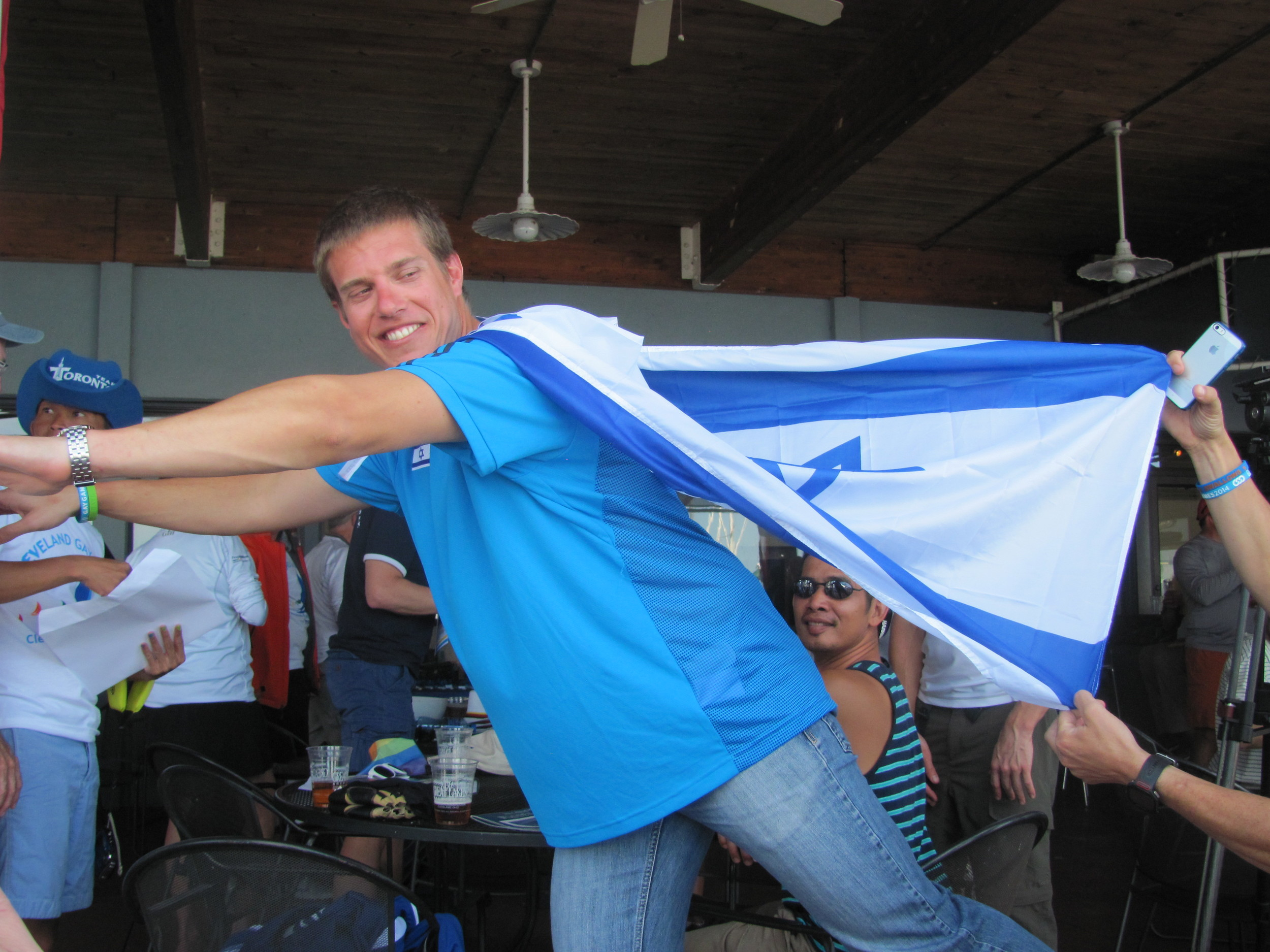 Elad, the super Israeli