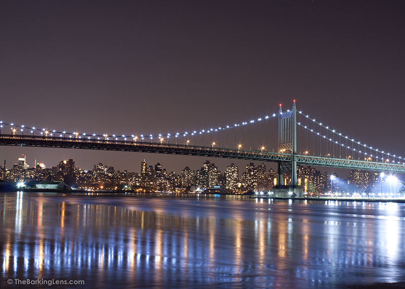 Triborough Bridge as seen from Astoria Park in Queens, NY.