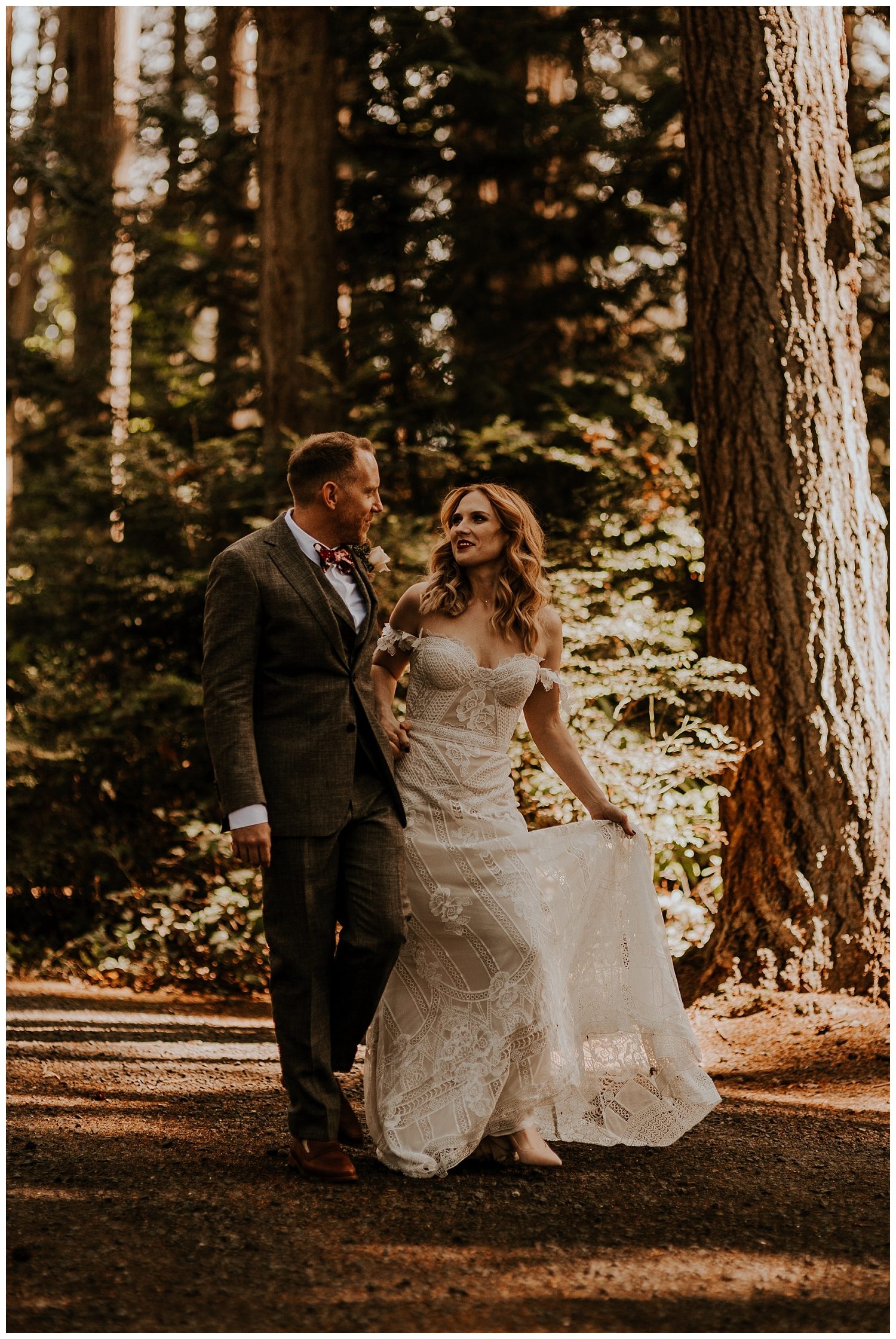 Kitsap Memorial State Park Wedding.Peter Ashley Kitsap State Park Outdoor Wedding Van