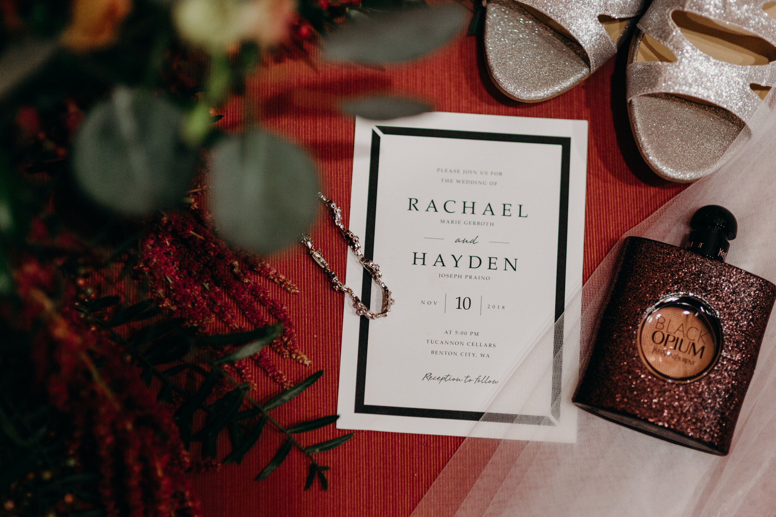 rachael and hayden tucannon cellars sugar pine barn benton city washington van gachnang photography