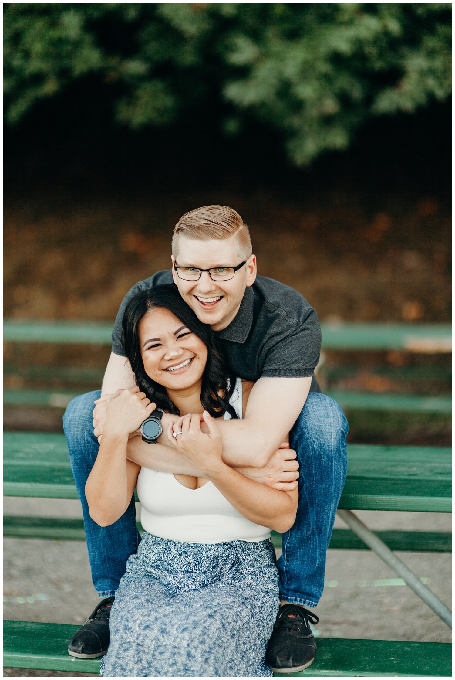 Jaynah and Kevin Point Defiance Rose Garden Owen Beach Tacoma Washington Engagement Session (19).jpg