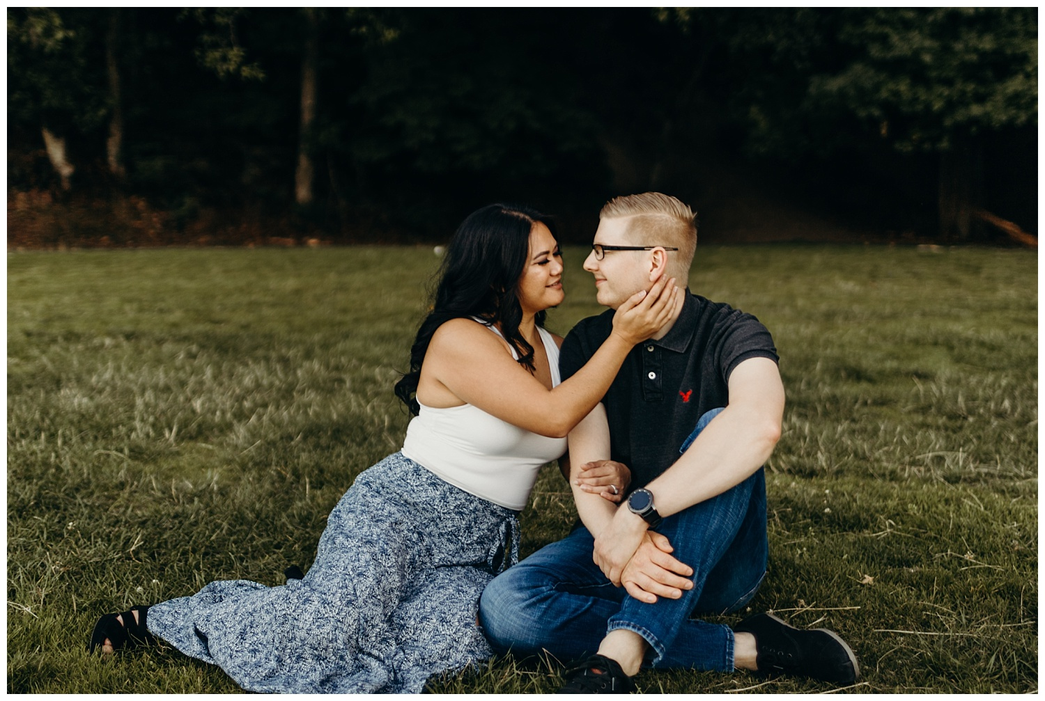 Jaynah and Kevin Point Defiance Rose Garden Owen Beach Tacoma Washington Engagement Session (47).jpg
