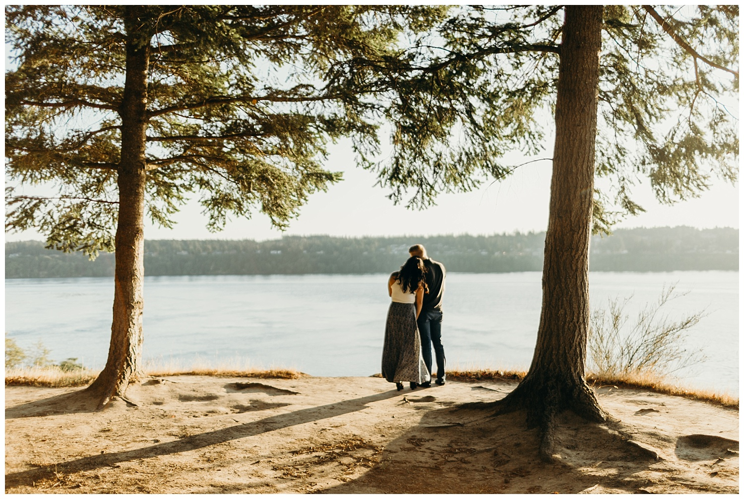 Jaynah and Kevin Point Defiance Rose Garden Owen Beach Tacoma Washington Engagement Session (57).jpg