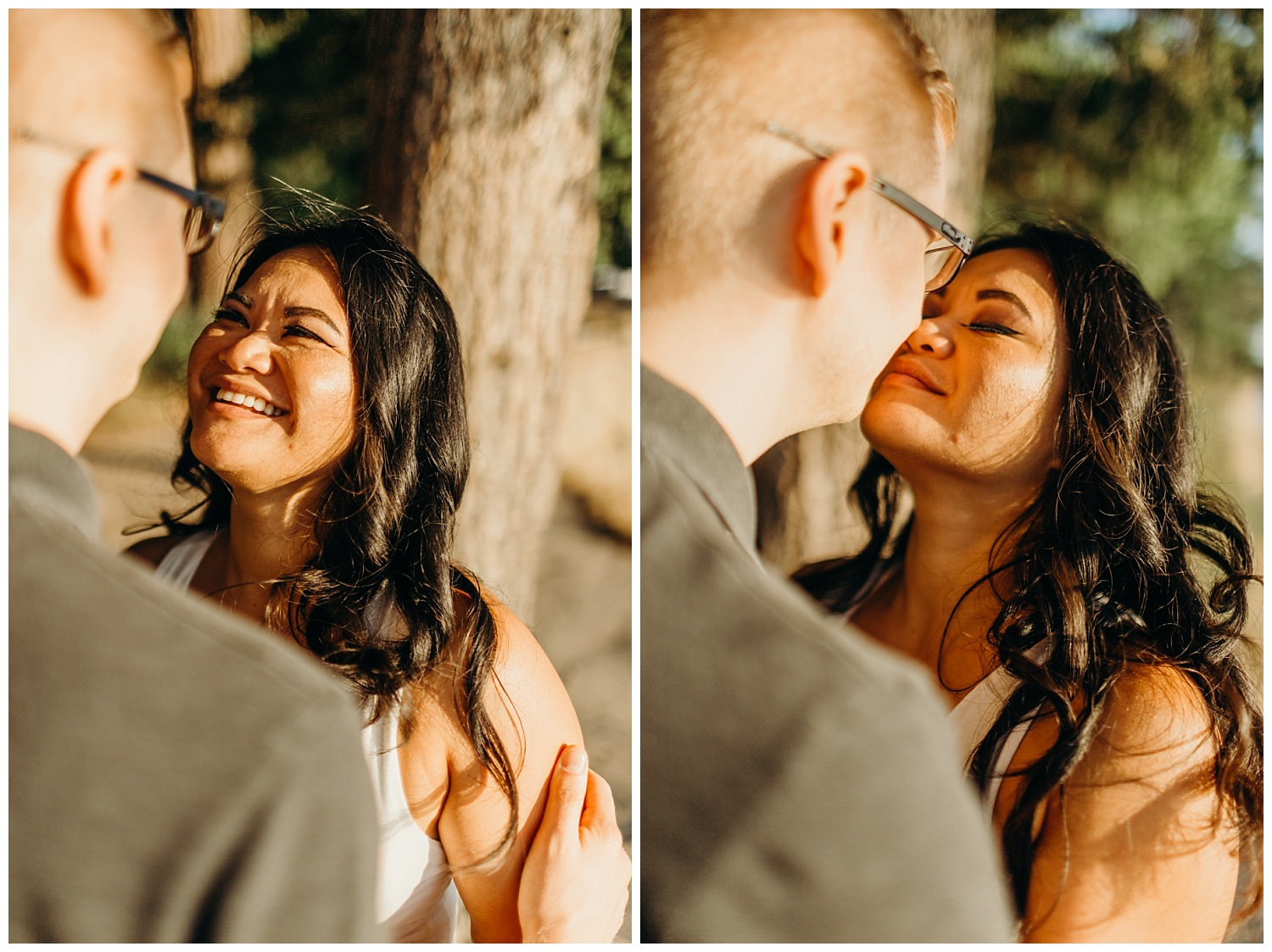 Jaynah and Kevin Point Defiance Rose Garden Owen Beach Tacoma Washington Engagement Session (60).jpg