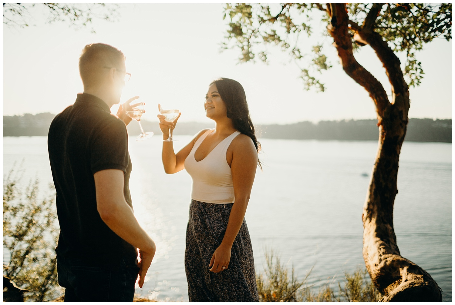 Jaynah and Kevin Point Defiance Rose Garden Owen Beach Tacoma Washington Engagement Session (68).jpg
