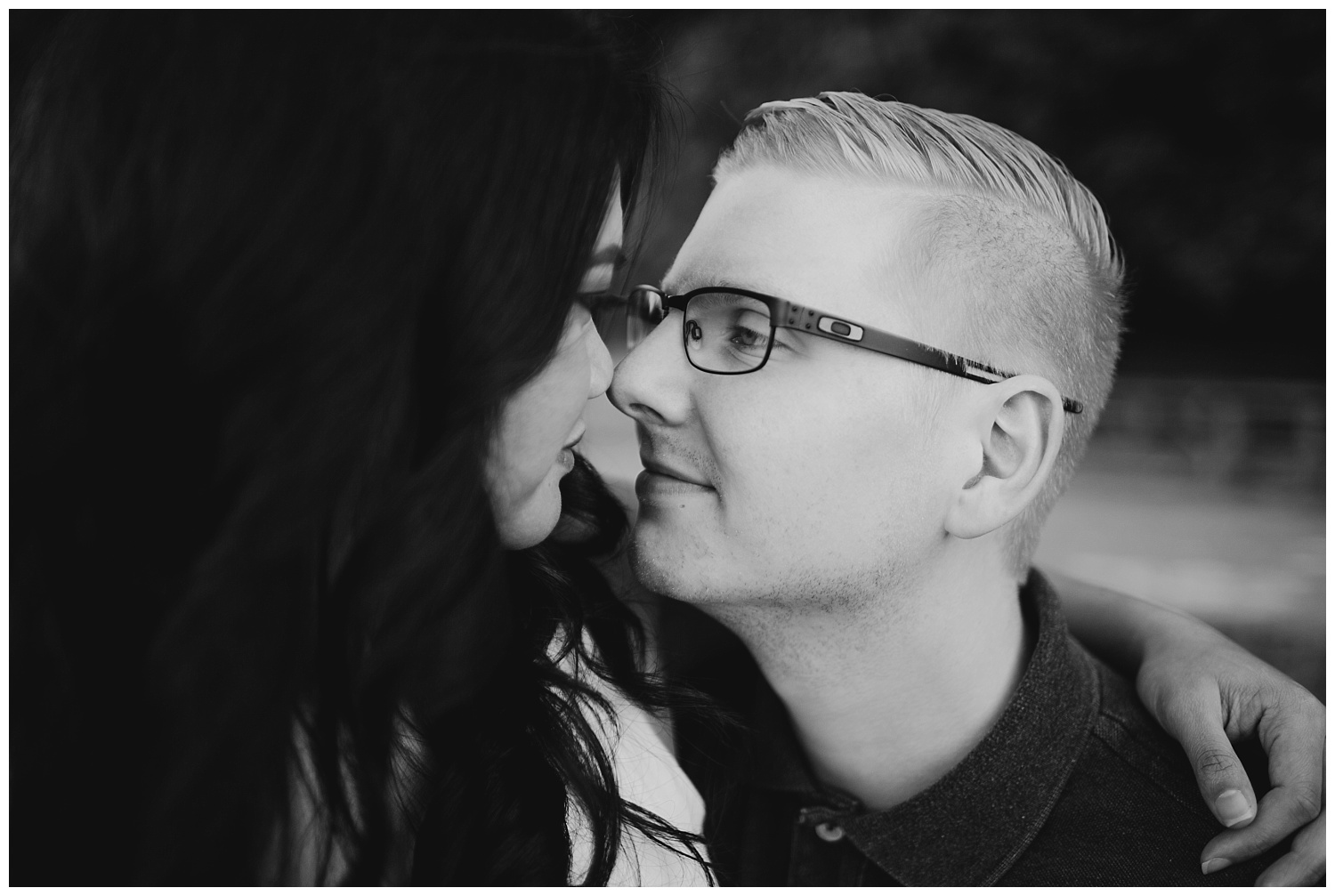 Jaynah and Kevin Point Defiance Rose Garden Owen Beach Tacoma Washington Engagement Session (77).jpg