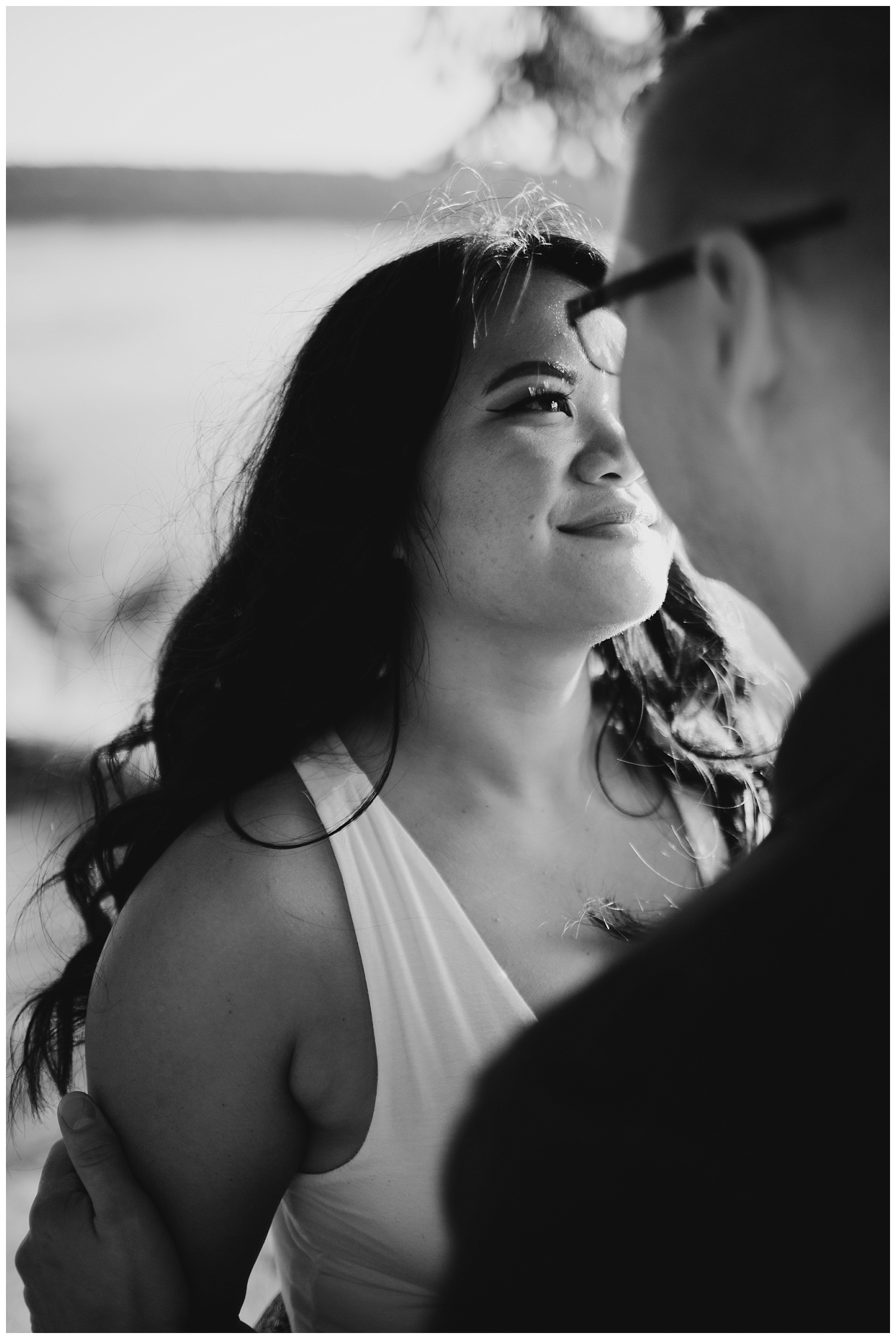 Jaynah and Kevin Point Defiance Rose Garden Owen Beach Tacoma Washington Engagement Session (83).jpg