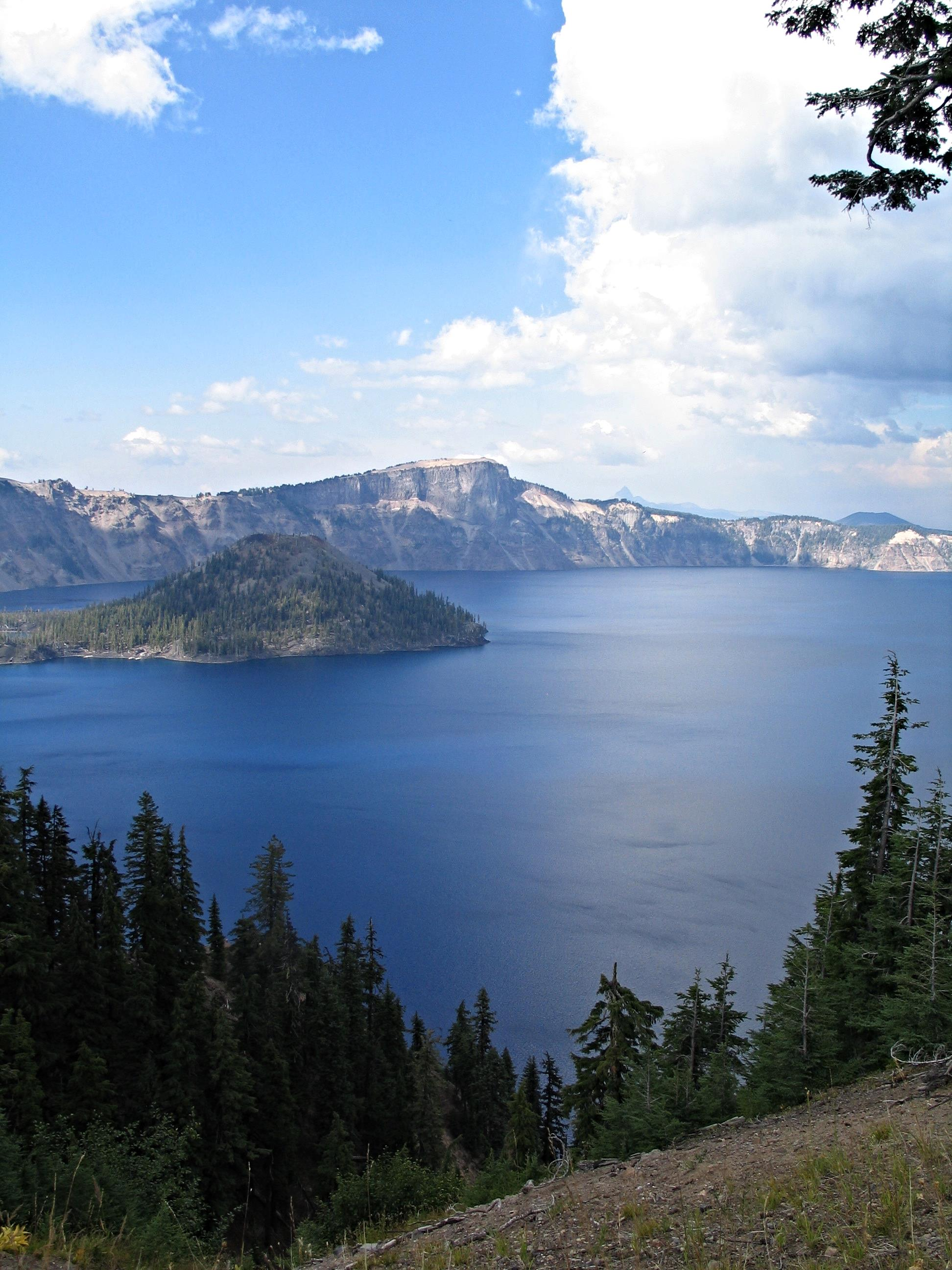We are so fortunate to live close to the beautiful Crater Lake, once a southern Oregon volcano.