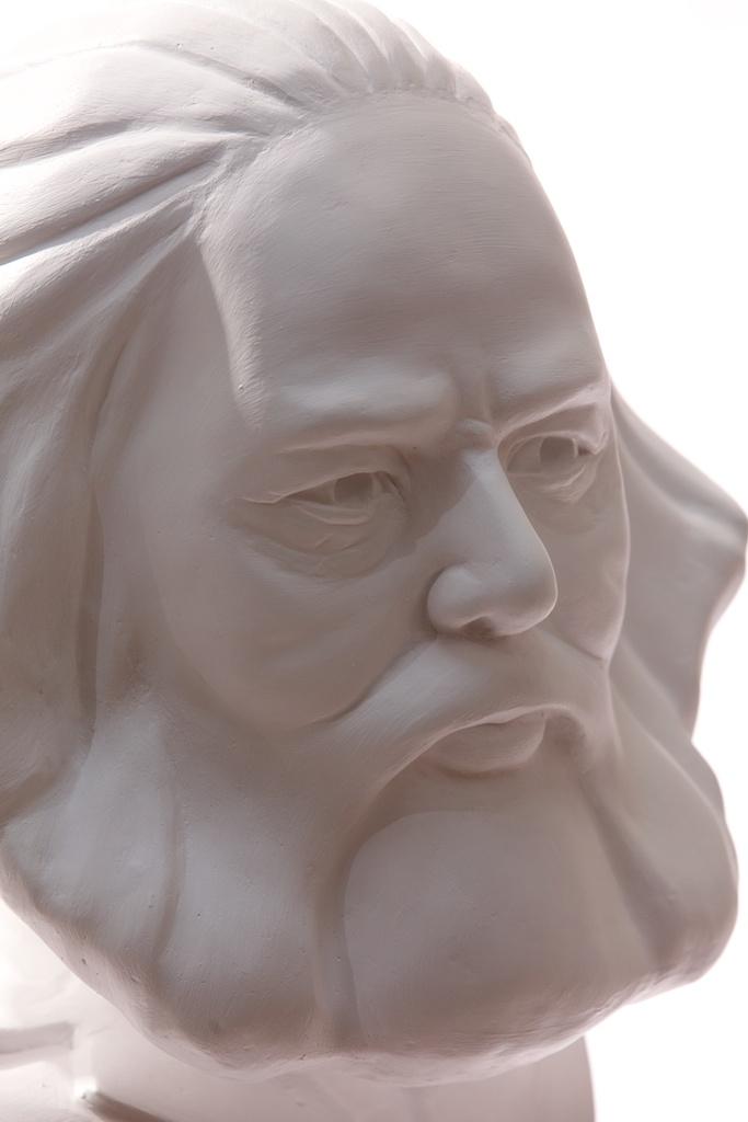 Karl Marx (detail)