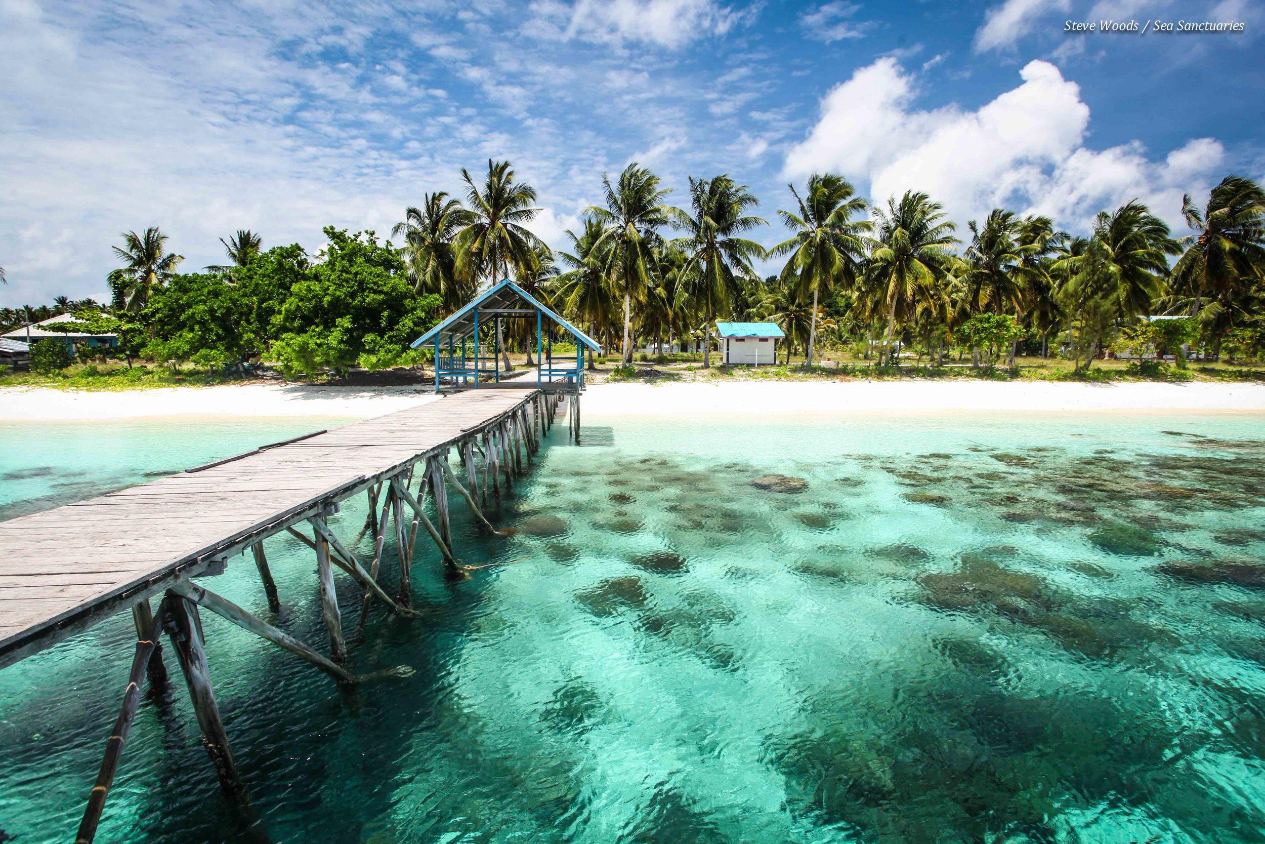 Saukabu Village on the island of Fam