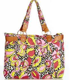 floral canvas bag - Crossroads.JPG