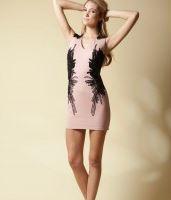 Elliatt Feather flock dress - Blooms Boutique.JPG