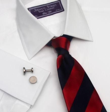 white poplin mens business shirt - Jermyn Street.JPG