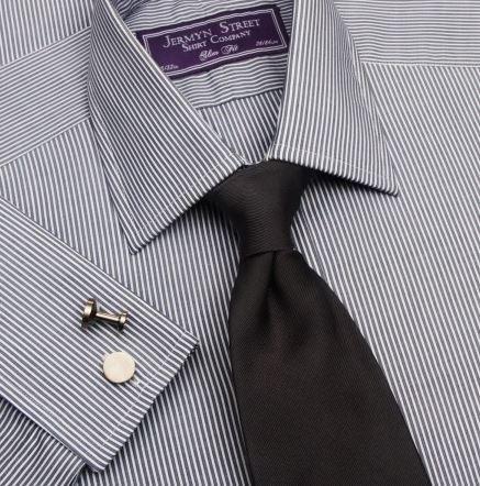 silver grey slim fit mens shirt - Jermyn Street.JPG