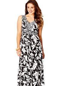 Katies V neck maxi dress.JPG