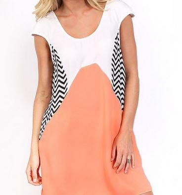 veronica peach dress Beginning Boutique.JPG