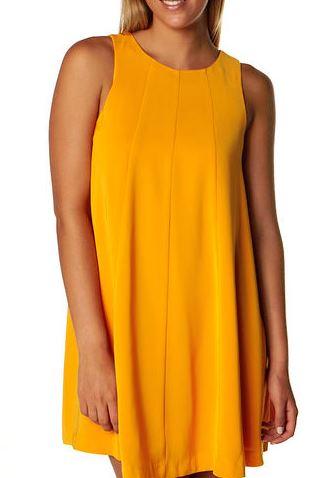 orange keepsake dress at Surf Stitch.JPG
