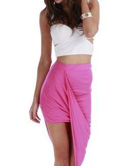 one honey boutique madison square angle skirt.JPG