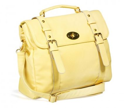 yellow satchel - Catwalk 88 handbags.JPG