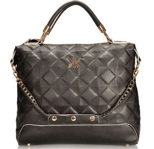 Kardashian Kollection Black quilted bag - Everme.JPG