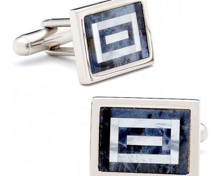 sodalite and mop maze cufflinks.JPG