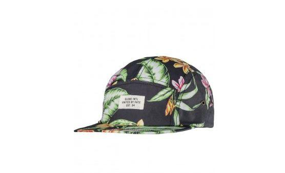 Globe summer print cap.JPG