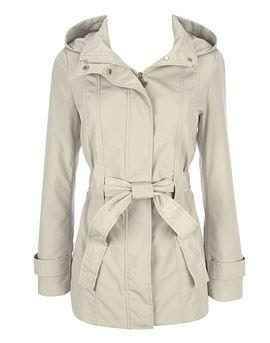 Calvin Klein ladies hooded rain coat.JPG