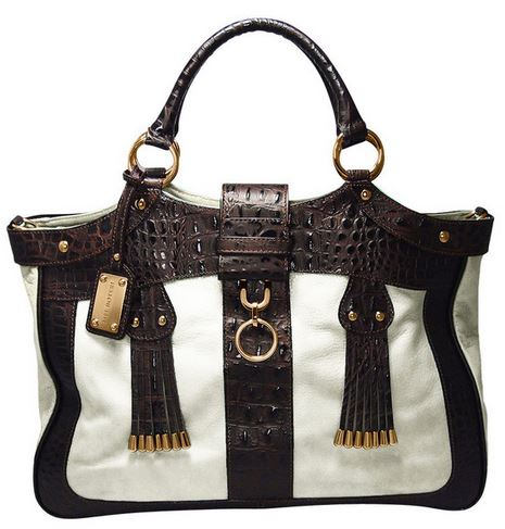 Mel Boteri croc embossed handbag.JPG