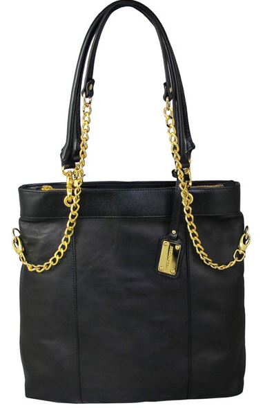 Mel Boteri large black stephanie tote.JPG