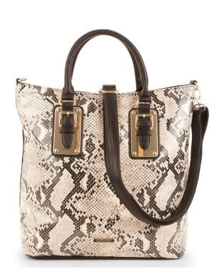 Kardashian Kollection calin two tone tote.JPG