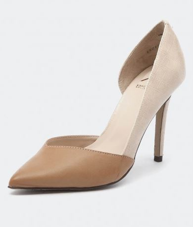 Kardashian Kollection Lasrie Buff pointed heel.JPG