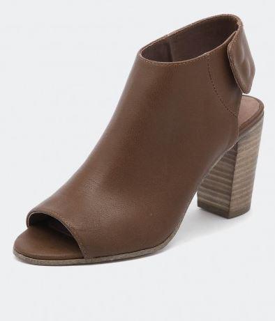 Top End Ellios Tan stacked heel peep toe.JPG