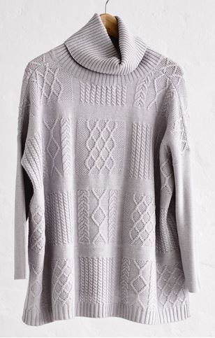patchwork poncho grey hunting for george.JPG